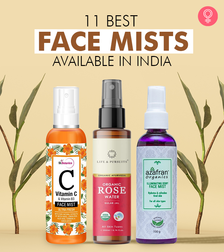 11 Best Face Mists Available In India