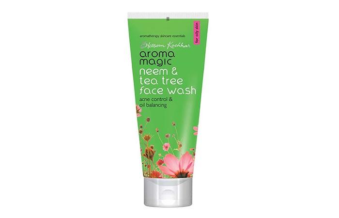Blossom Kochhar aroma magic Neem & Tea Tree Face Wash