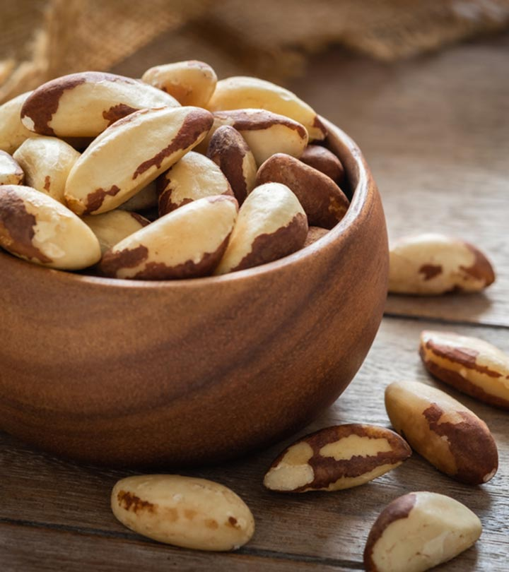 Brazil Nuts Benefits and Side Effects in Bengali