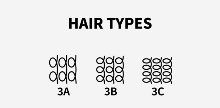 Differences Between 3A 3B And 3C Hair Types