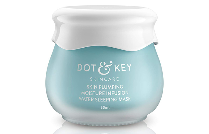 Dot & Key Skin Plumping Moisture Infusion Water Sleeping Mask