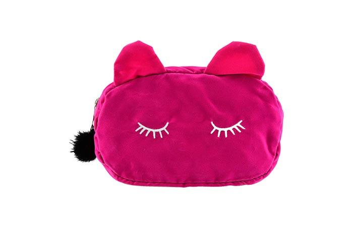 Electomania Cute Cat Cosmetic Pouch