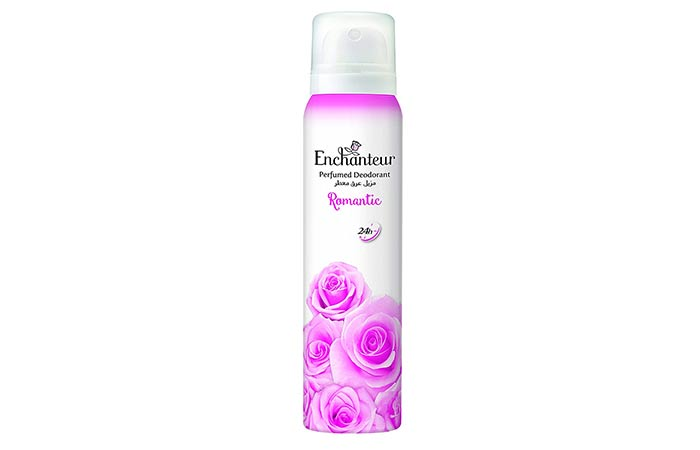 Enchanteur Romantic Perfumed Deo Spray For Women