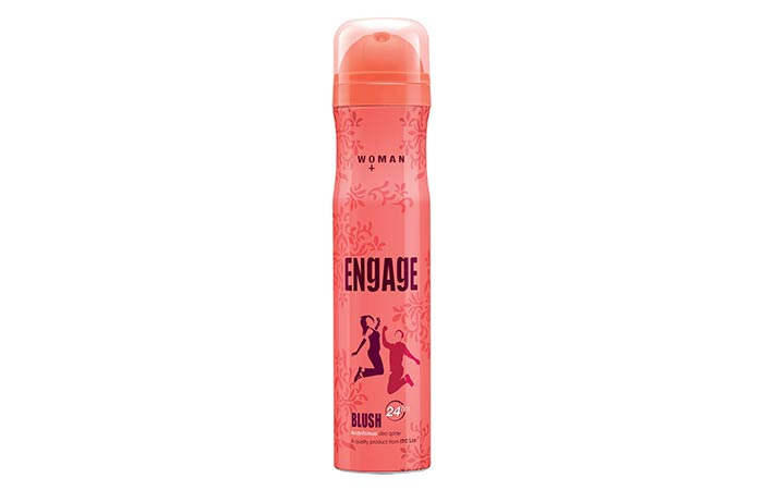 Engage Blush Bodylicious Deodorant For Women