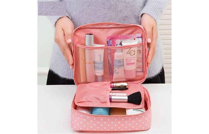 FASTUNBOX (LABEL) Travel Cosmetic Makeup Case