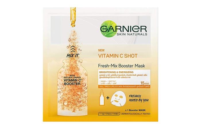 GARNIER SKIN NATURALS VITAMIN C SHOT Fresh-Mix Booster Mask