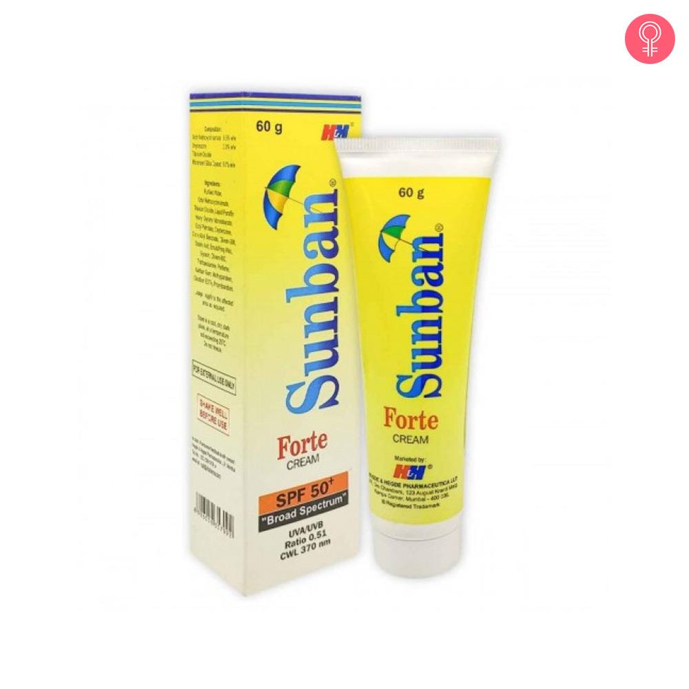 H&H Sunban Forte Cream