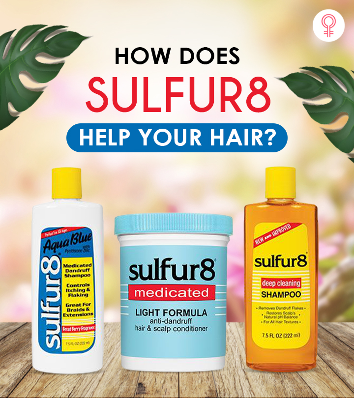 How Does Sulfur8 Help Your Hair?