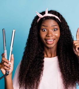 How to Flat Iron Natural Hair Effectively