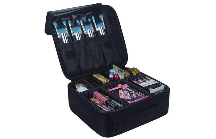 INOVERA (LABEL) Nylon Professional Makeup Storage Bag