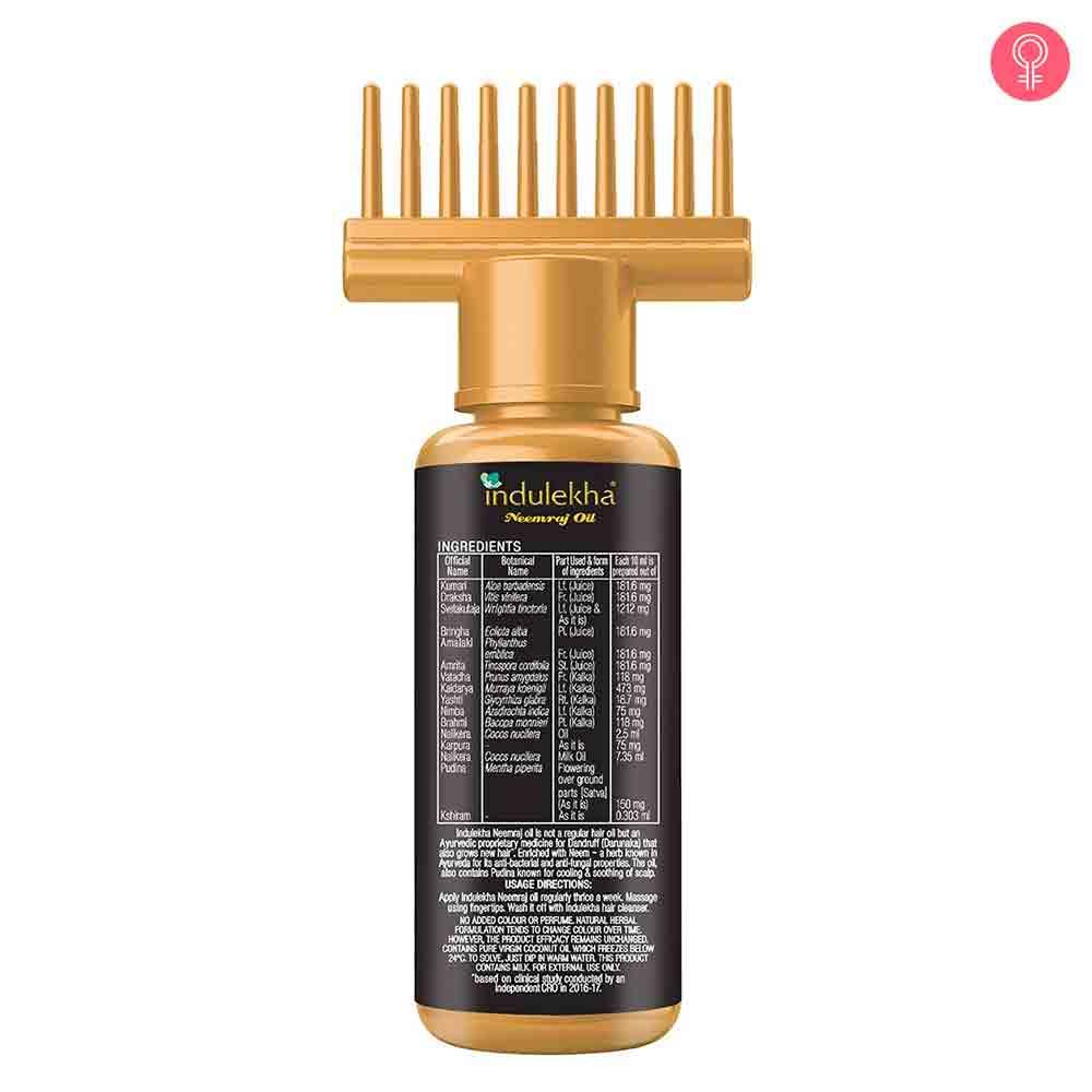 Indulekha Neemraj Hair Oil