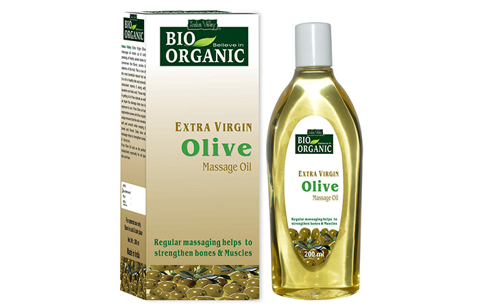 Indus Valley Bio Organic Extra Virgin Olive Massage Oil