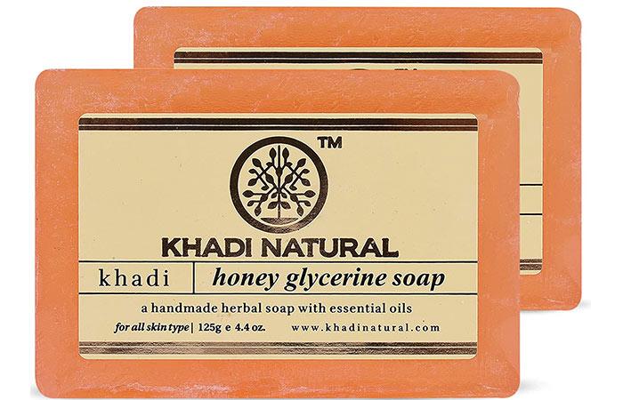 KHADI NATURAL Honey Glycerine Soap