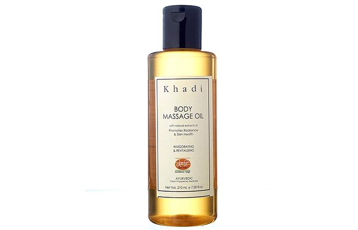 Khadi Body Massage Oil