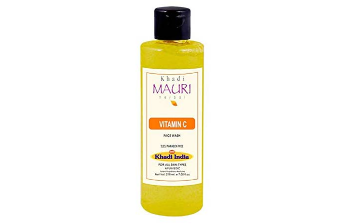 Khadi Mauri Herbal Vitamin C Face Wash