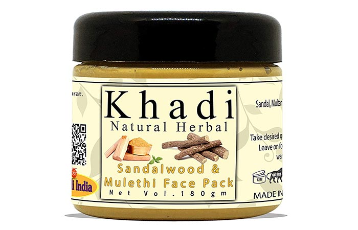 Khadi Natural Sandalwood Face Pack