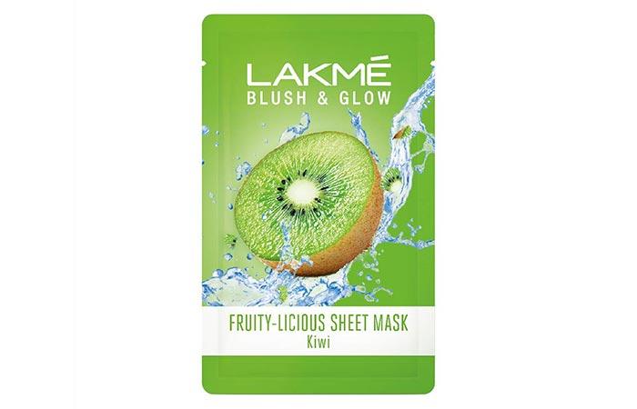 LAKME BLUSH GLOW Fruity-Licious Sheet Mask Kiwi-1