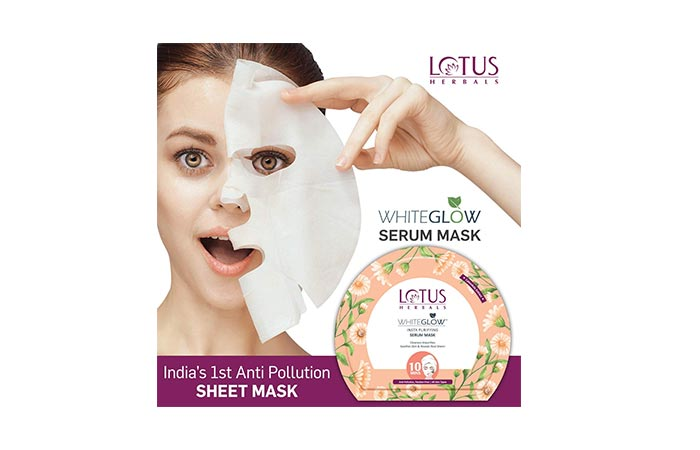 LOTUS HERBALS WHITEGLOW Insta Purifying Serum Mask