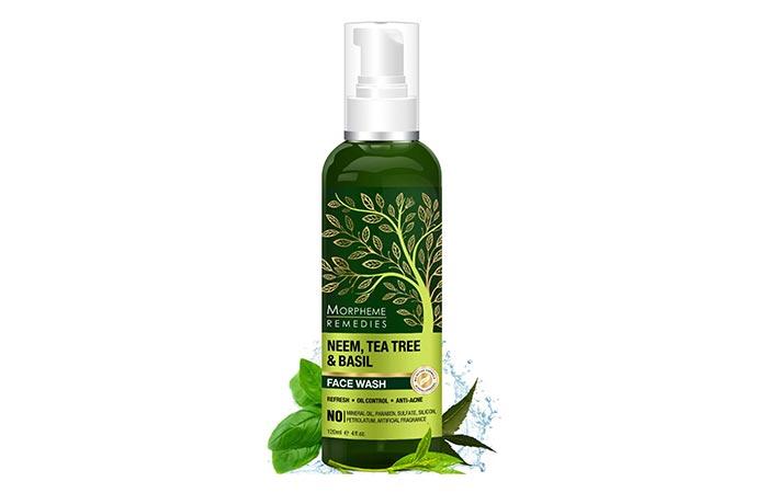 MORPHEME REMEDIES Neem, Tea Tree Basil Face Wash