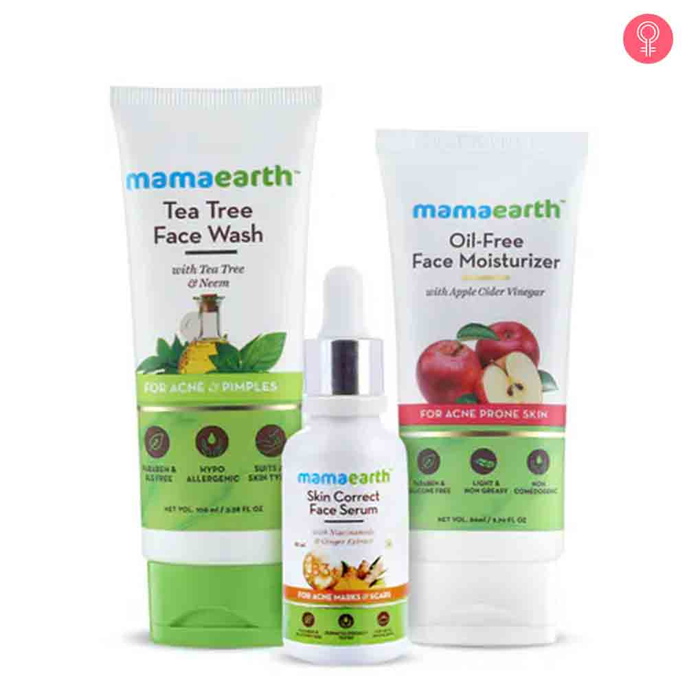 Mamaearth Anti Acne Kit