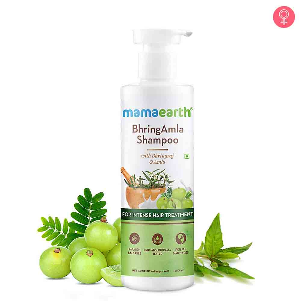 Mamaearth Bhringamla Shampoo With Bhringraj & Amla