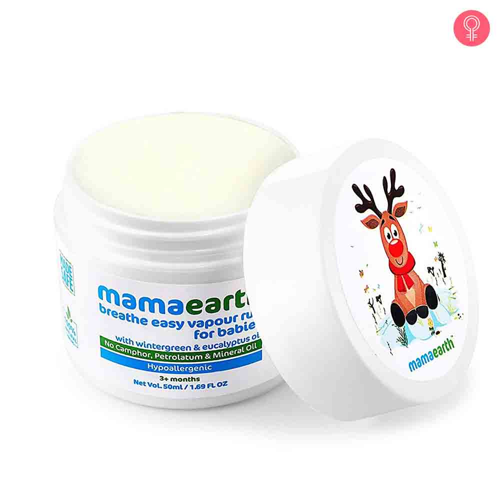 Mamaearth Breathe Easy Vapour Rub For Babies