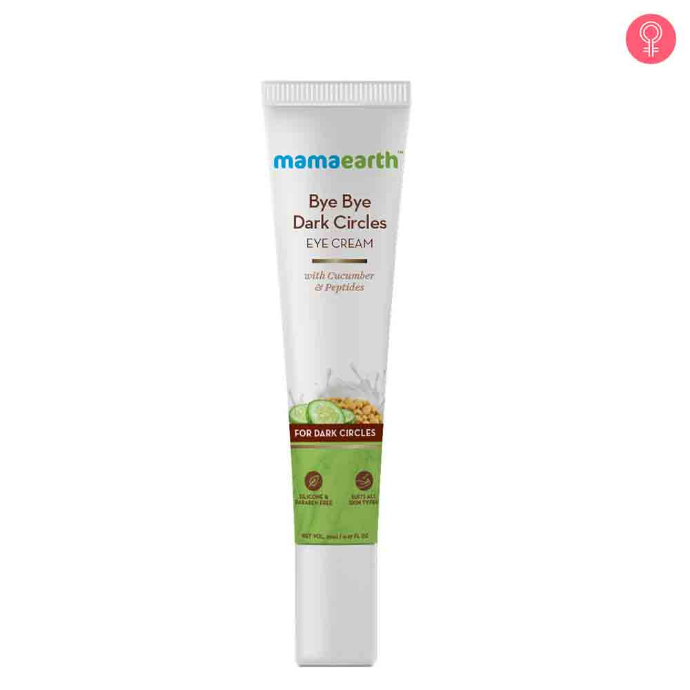 Mamaearth Bye Bye Dark Circles Eye Cream
