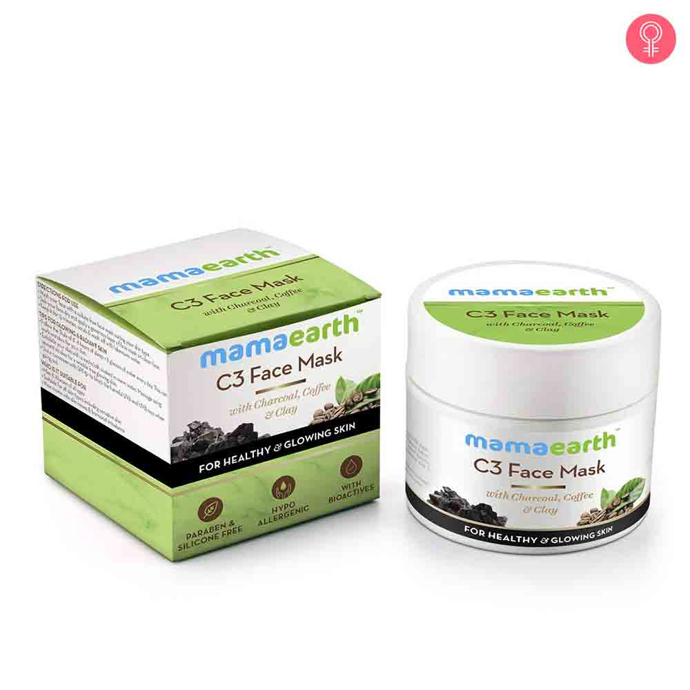Mamaearth C3 Face Mask With Charcoal, Coffee And Clay