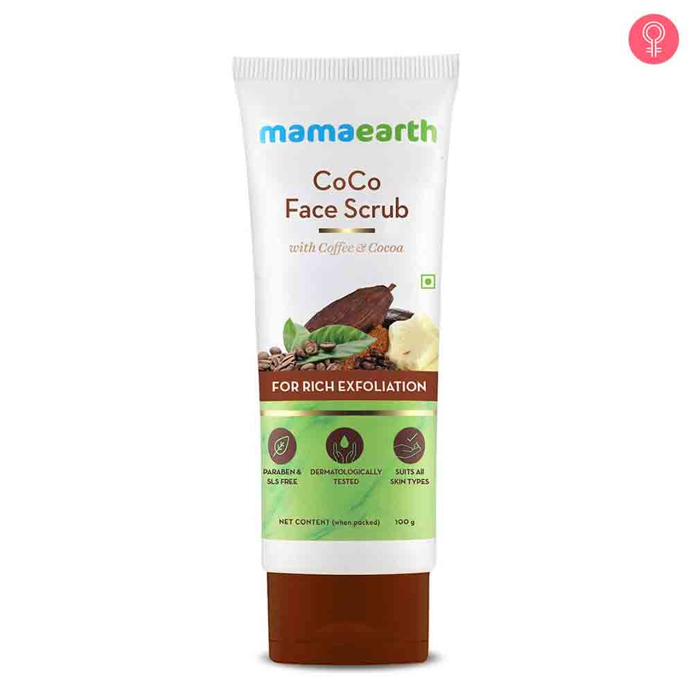Mamaearth Coco Face Scrub With Coffee & Cocoa For Rich Exfoliation