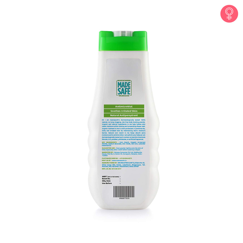 Mamaearth Dusting Powder For Babies