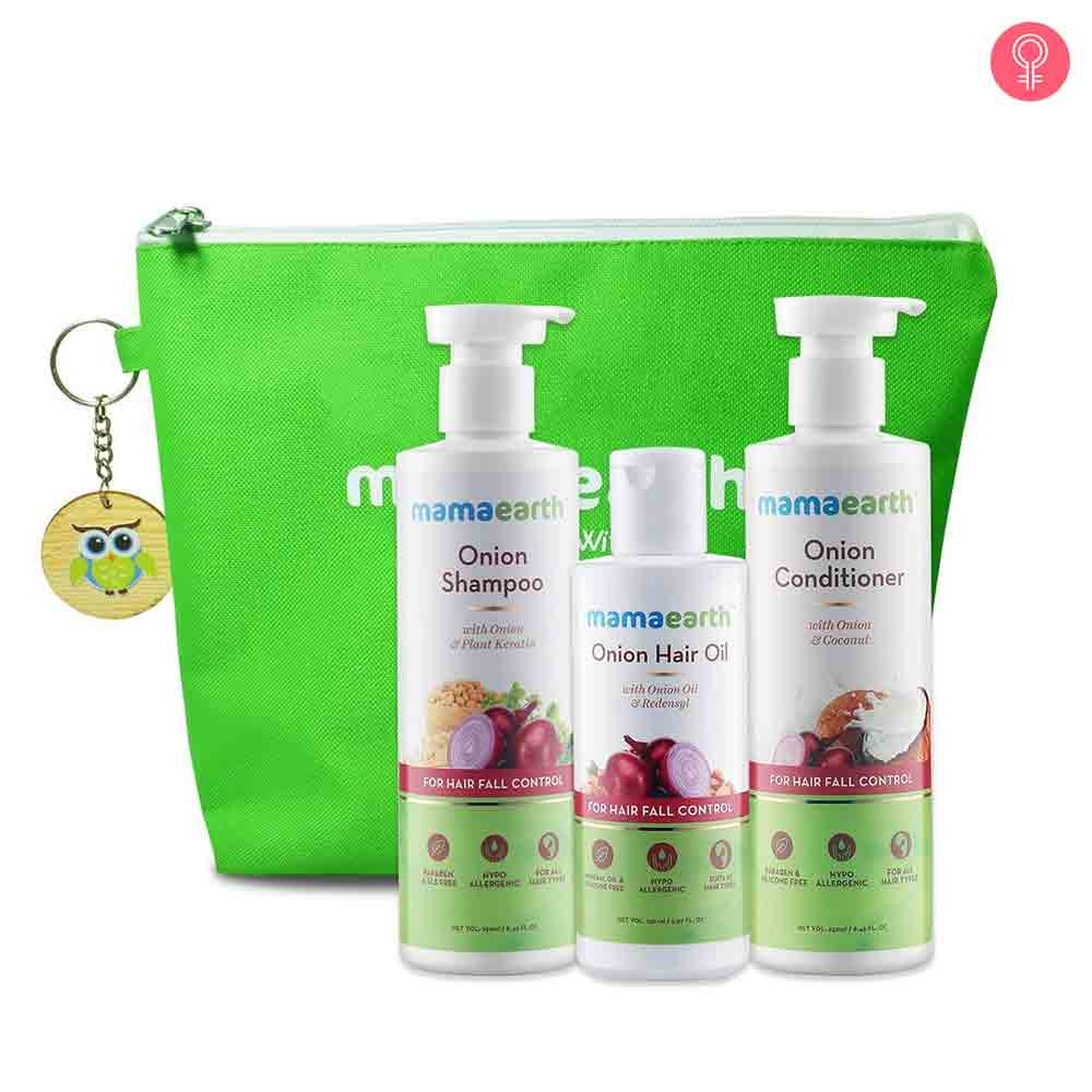 Mamaearth Hair Fall Control Kit