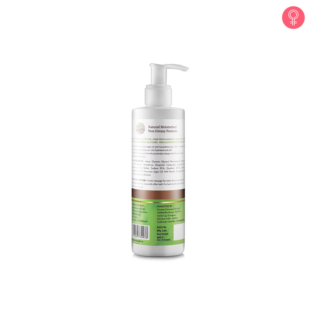 Mamaearth Healing Body Lotion For Dry Skin