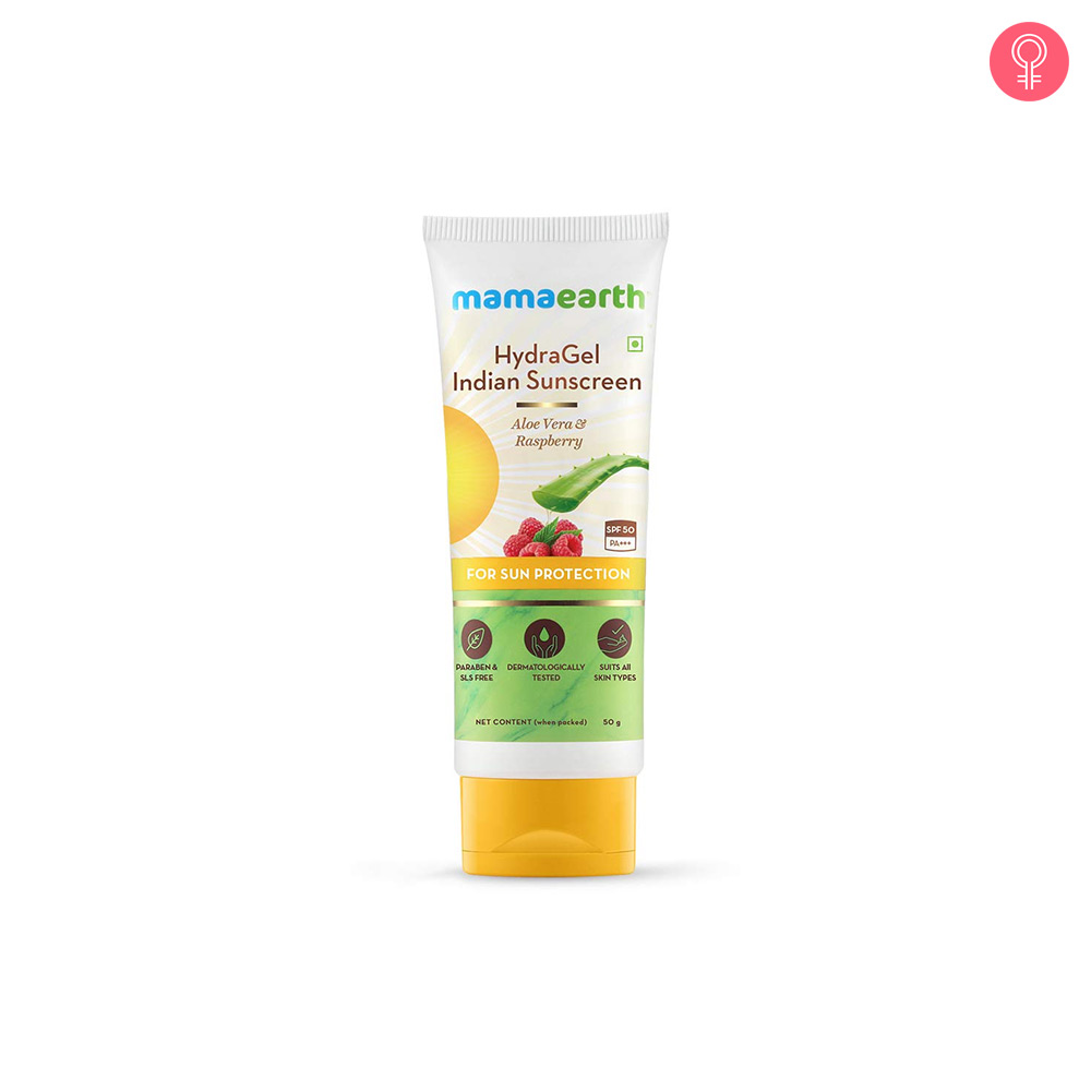 Mamaearth Hydragel Indian Sunscreen