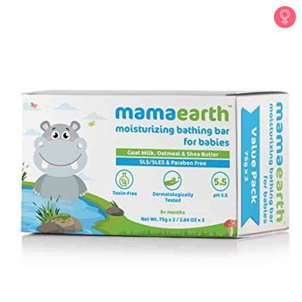 Mamaearth Moisturizing Baby Bathing Soap Bar