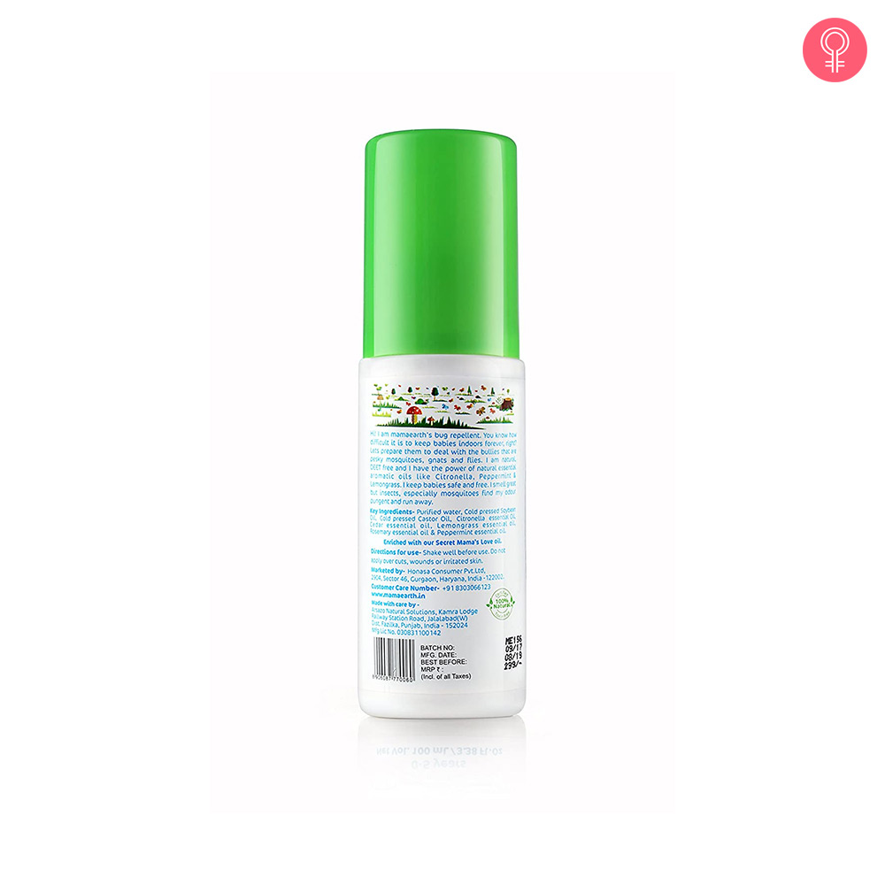 Mamaearth Mosquito Repellent Spray For Babies