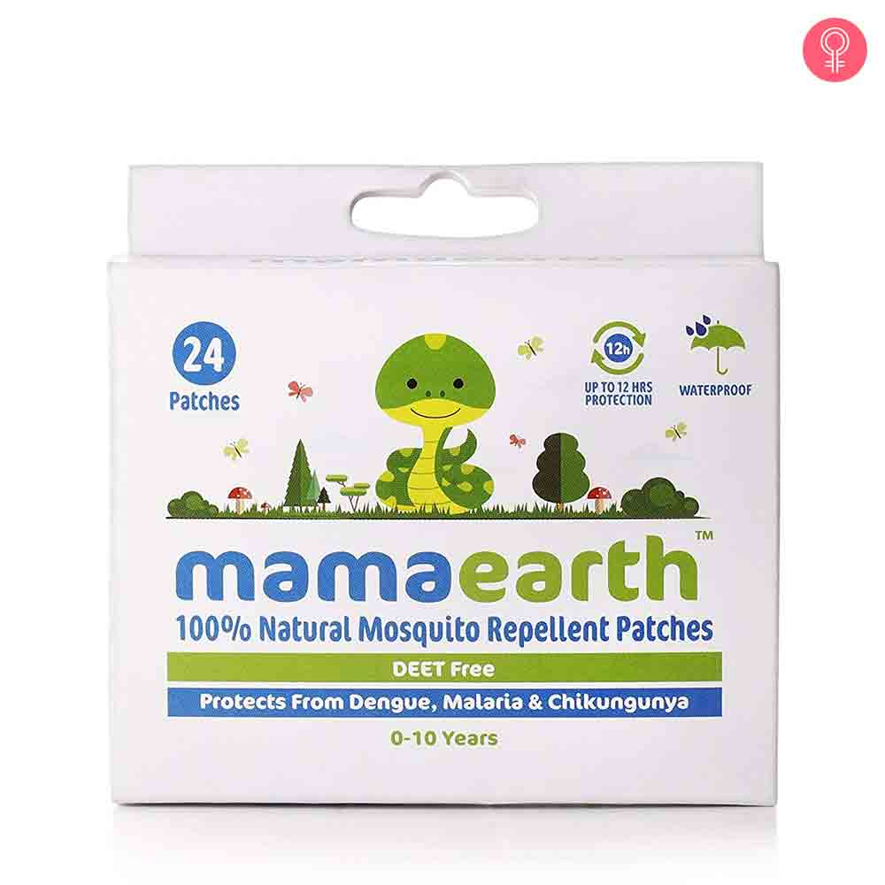 Mamaearth Natural Mosquito Repellent Patches