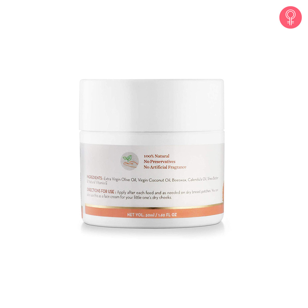 Mamaearth Natural Nipple Butter Cream