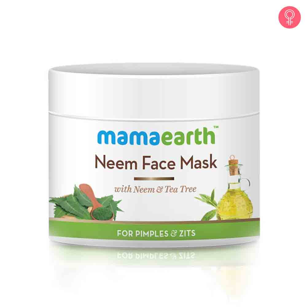 Mamaearth Neem Face Mask With Neem And Tea Tree For Pimples