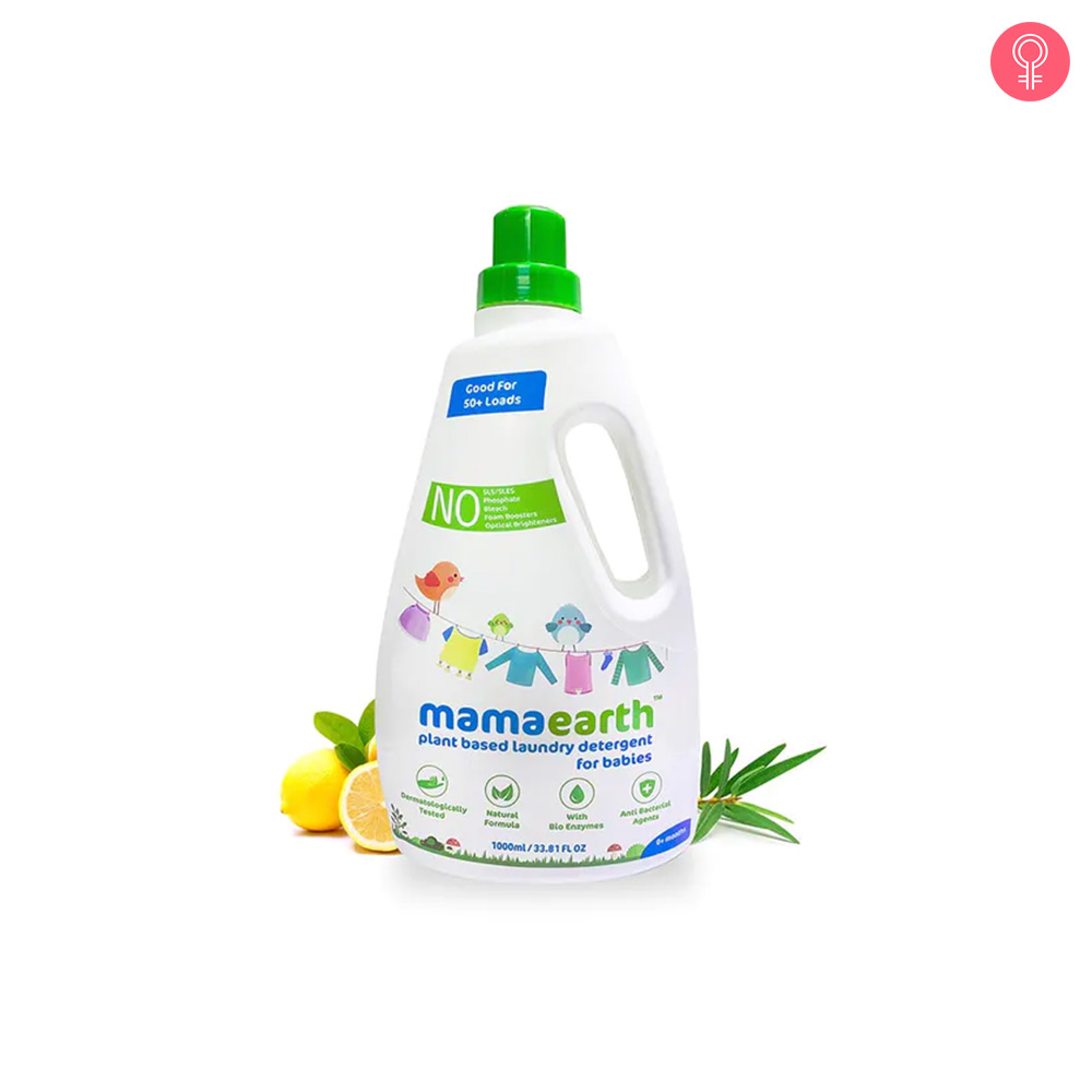 Mamaearth Plant Based Laundry Liquid Detergent For Babies