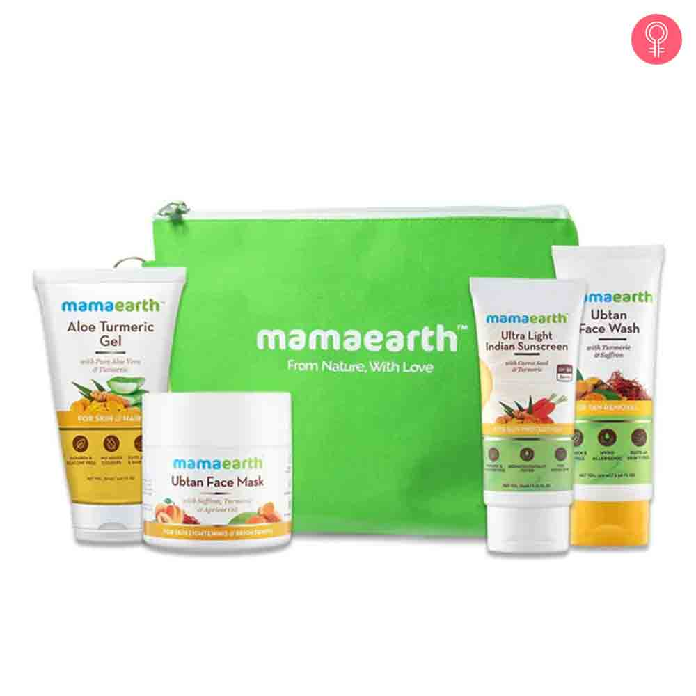 Mamaearth Revitalizing Turmeric Kit