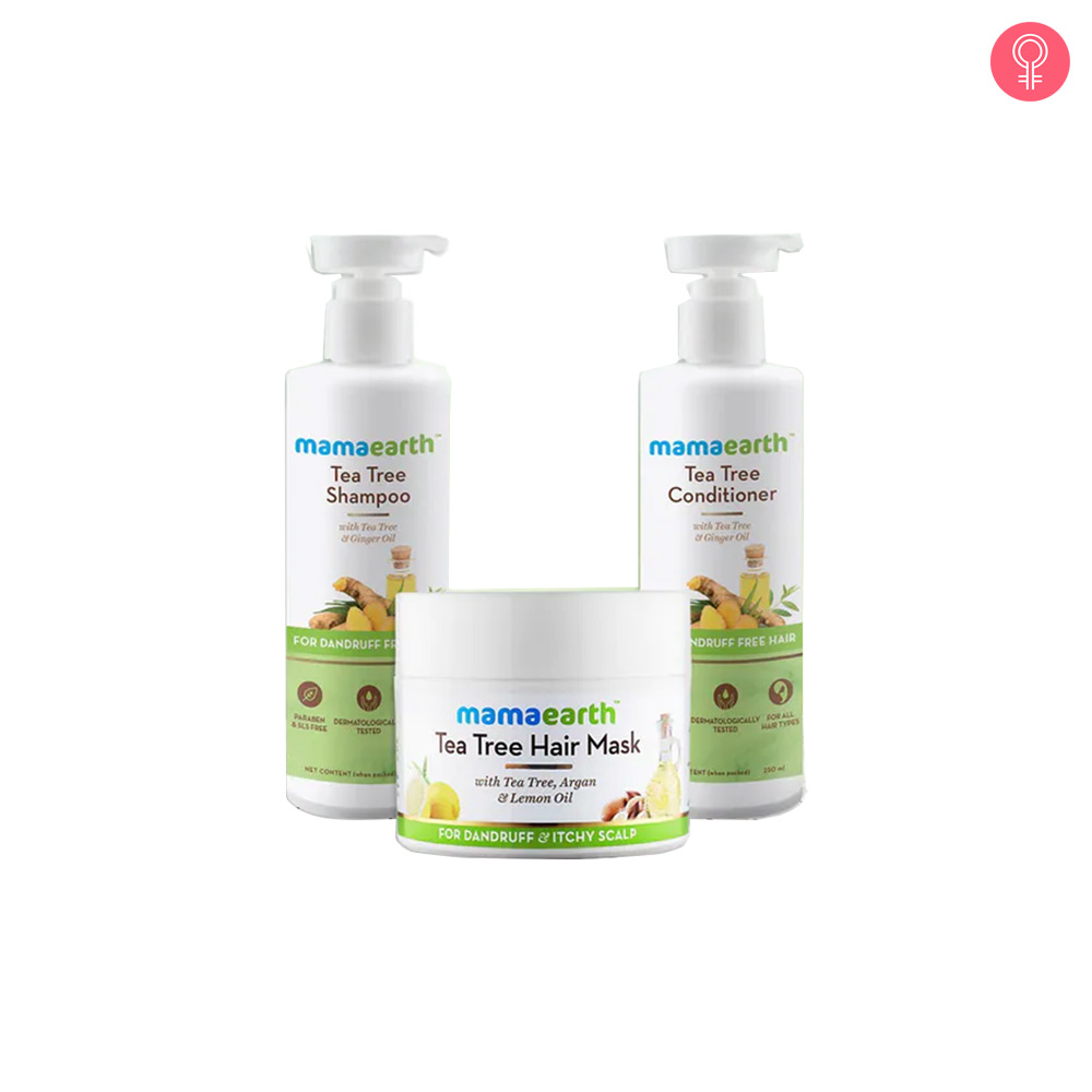 Mamaearth Tea Tree Anti-Dandruff Kit