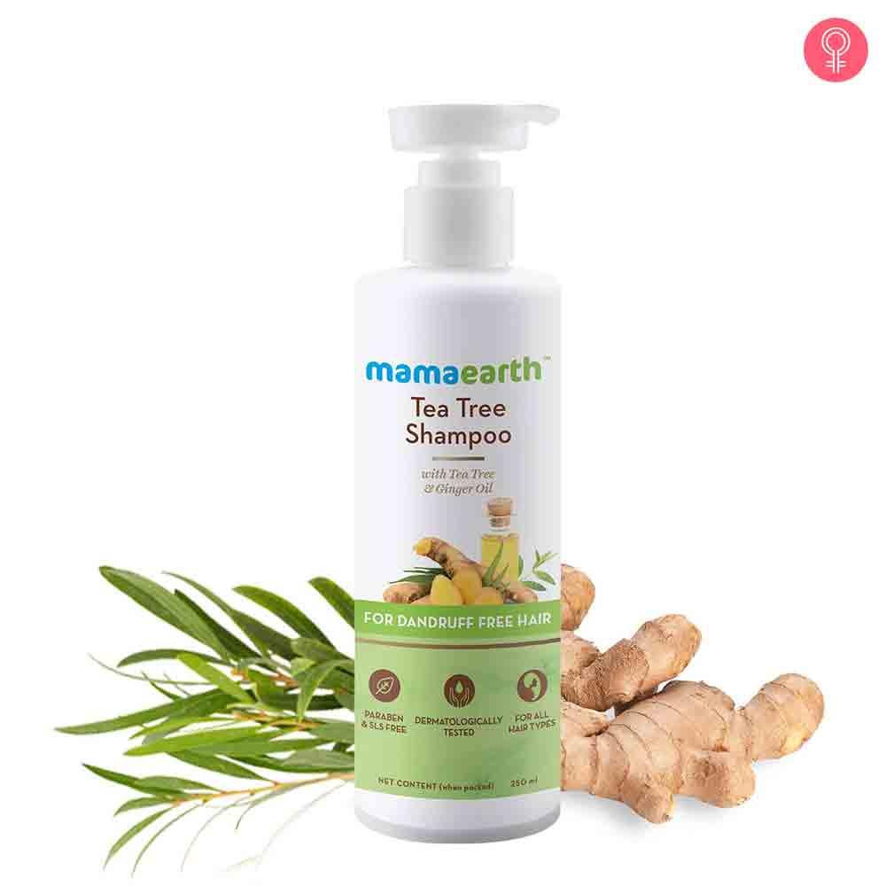 Mamaearth Tea Tree Anti Dandruff Shampoo