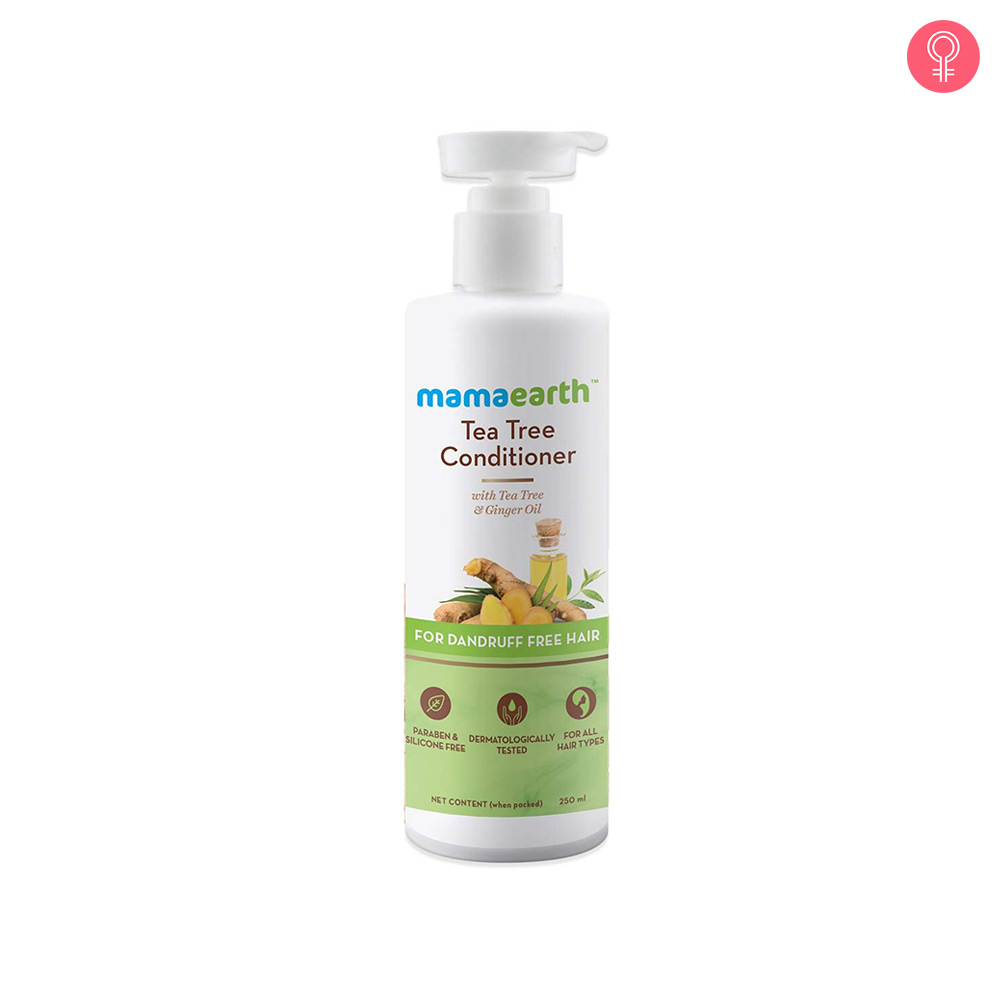 Mamaearth Tea Tree Conditioner For Dandruff Free Hair