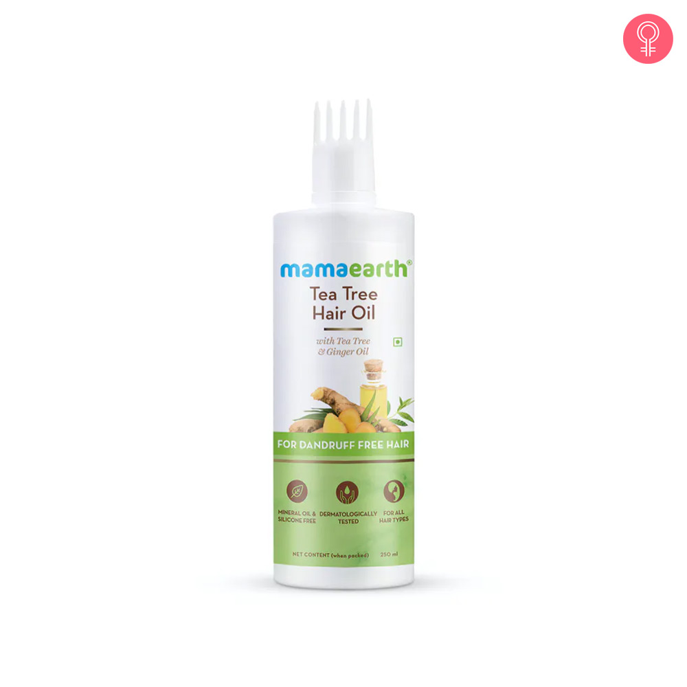 Mamaearth Tea Tree Hair Oil