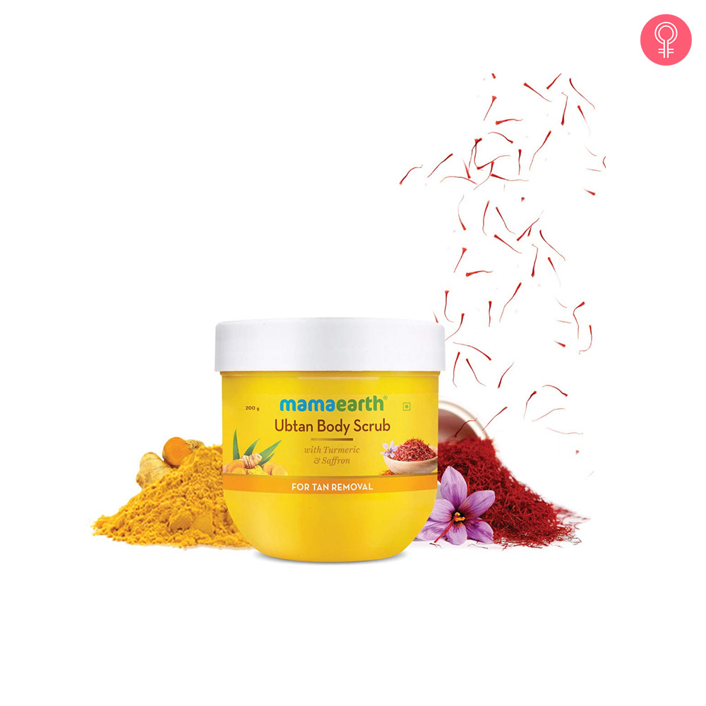 Mamaearth Ubtan Body Scrub With Turmeric & Saffron For Tan Removal