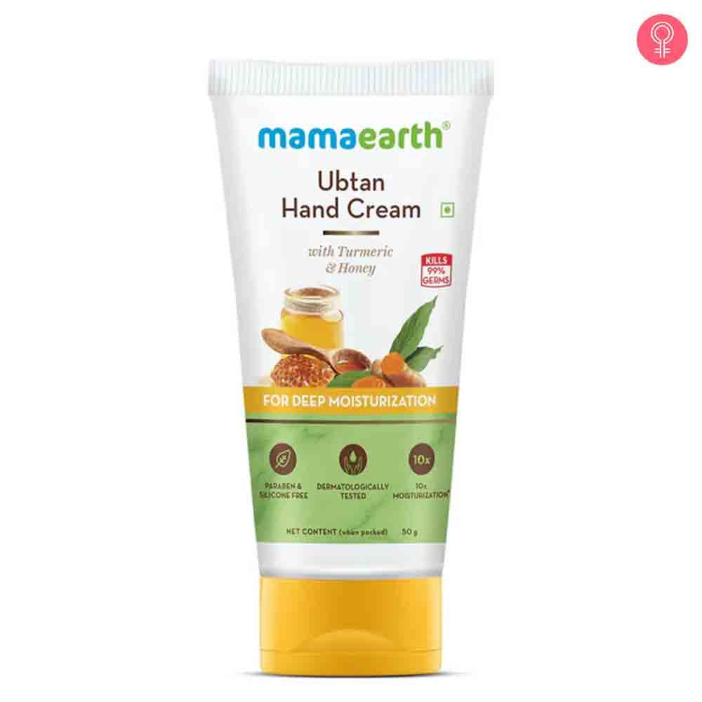 Mamaearth Ubtan Hand Cream