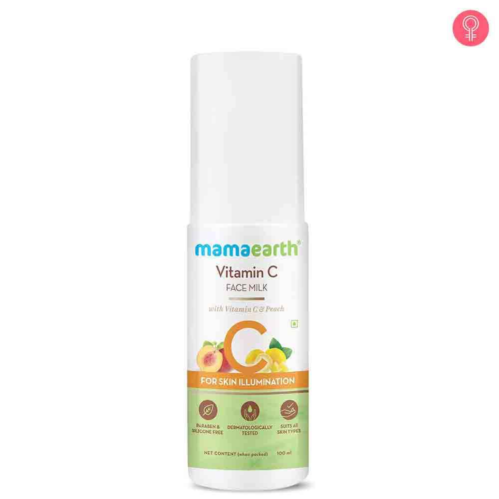 Mamaearth Vitamin C Face Milk