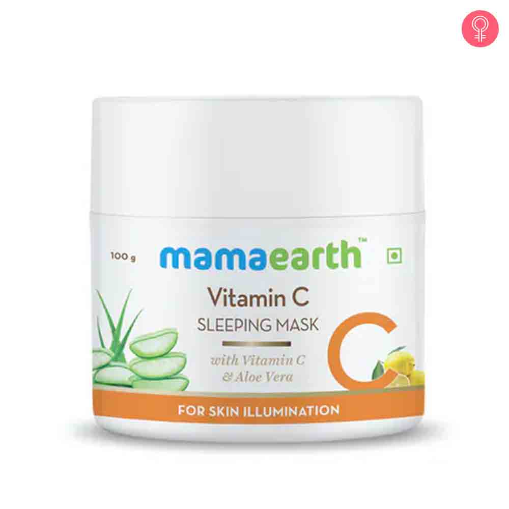 Mamaearth Vitamin C Sleeping Mask With Vitamin C And Aloe Vera For Skin Illumination