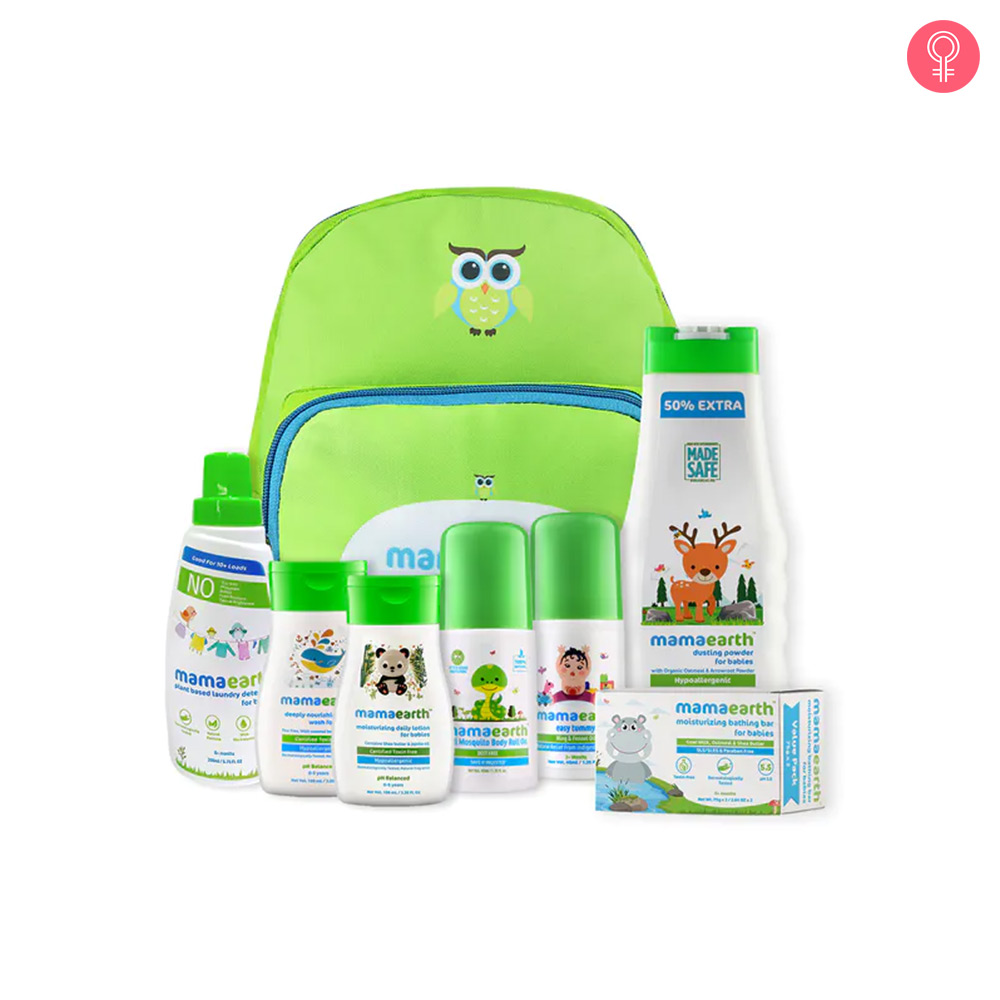 Mamaearth Welcome Baby Essentials Kit