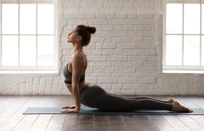 Method of performing Bhujangasana